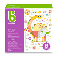 Babyganics Skin Love Diapers Size 6 -Box of 50