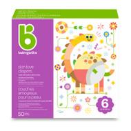 Babyganics Skin Love Diapers Size 6 -Box of 50