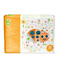 Babyganics Skin Love Diapers Size Newborn Bag of 32
