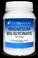 Cyto Matrix Magnesium Bis-glycinate Full Chelate 80mg 90 Veg Capsules