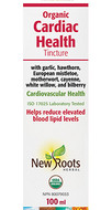 New Roots Organic Cardiac Health Tincture 100 ml