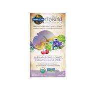 Garden of Life mykind Organics Prenatal Once Daily 30 Vegan Tablets