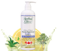 Herbal Glo Ultra Clean Hand Sanitizer Gel 350 ml
