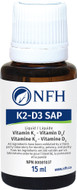 NFH Vitamin K2 D3 SAP 15 Ml Drop