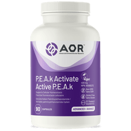Aor P.E.A.k Activate 90 Veg Capsules