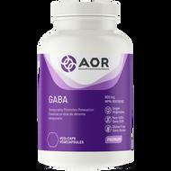 AOR GABA 600 mg 120 Veg Capsules Product Facts