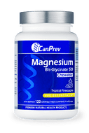 CanPrev Magnesium Bis-Glycinate 50 Chewable Tropical Pineapple