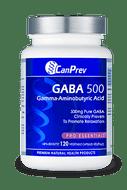 CanPrev GABA 500mg 120 Veg Capsules