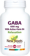 New Roots GABA With Active-Form B6 300 Capsules