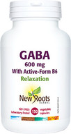 New Roots GABA With Active-Form B6 150 Capsules