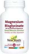 New Roots Magnesium Bisglycinate 200mg Elemental Magnesium 240 Capsules
