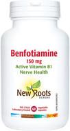 New Roots Benfotiamine 150mg 60 Veg Capsules