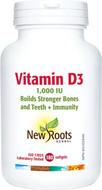 New Roots Vitamin D3 180 Softgels