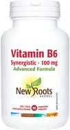 New Roots Vitamin B6 Synergistic 100 mg 90 Veg Capsules