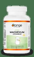Orange Naturals Kids Magnesium Chewables 50 mg Tangerine 120 Tables