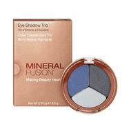 Mineral Fusion Eye Shadow Trio Stormy 3g