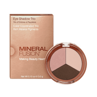 Mineral Fusion Eye Shadow Trio Rose Gold 3g
