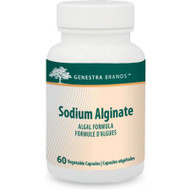 Genestra Sodium Alginate 60 Veg Capsules (6855)