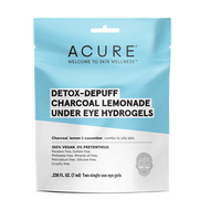 Acure Detox Charcoal Under Eye Hydrogels Pack of 12