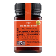 Wedderspoon Raw Manuka Honey KFactor 16 -500 g