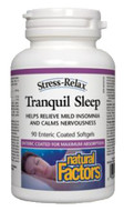 Natural Factors Stress-Relax Tranquil Sleep 90 Enteric Coated Softgels