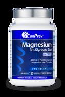 CanPrev Magnesium Bis Glycinate 200 mg Gentle 120 Veg Capsules