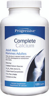 Progressive Complete Calcium For Adult Men 120 Tablets