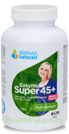 Platinum Naturals Super Easymulti For Women 45 Plus 120 Softgels