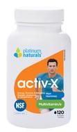 Platinum Naturals Activ X Multivitamin For Men 120 Softgels