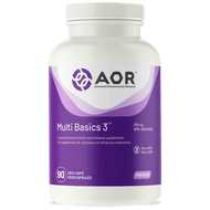 AOR Multi Basics 3 - 180 Veg Capsules
