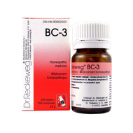 Dr Reckeweg BC3 - 200 Tablets