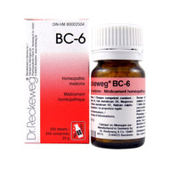 Dr Reckeweg BC6 - 200 Tablets (10096)