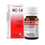Dr Reckeweg BC14 - 200 Tablets (10104)
