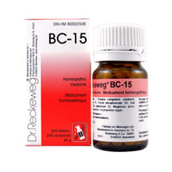 Dr Reckeweg BC15 - 200 Tablets (10105)
