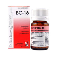 Dr Reckeweg BC16 - 200 Tablets (10106)