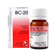 Dr Reckeweg BC20 - 200 Tablets (10110)
