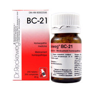 Dr Reckeweg BC21 - 200 Tablets