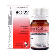 Dr Reckeweg BC22 - 200 Tablets (10112)