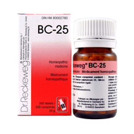 Dr Reckeweg BC25 - 200 Tablets (10115)