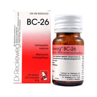 Dr Reckeweg BC26 - 200 Tablets (10116)