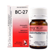 Dr Reckeweg BC27 - 200 Tablets