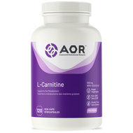 AOR L Carnitine 500 mg - 120 Veg Capsules