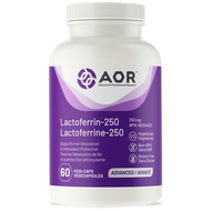 Aor Lactoferrin 250 mg - 60 Veg Capsules