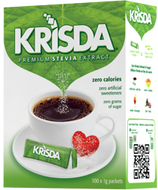Krisda Premium Stevia Extract 100 Packets