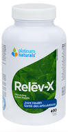 Platinum Naturals Relev-X Fast Acting 90 Softgel