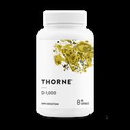 Thorne D1000 - 90 Veg Capsules