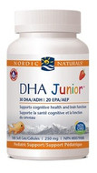 Nordic Naturals DHA Junior Strawberry 180 Softgels