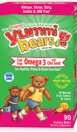 Hero Nutritionals Omega 3 With Chia - 90 Yummi Bears