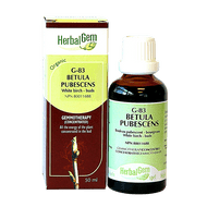 HerbalGem Gemmotherapy G83 Betula pubescens Buds 50 ml