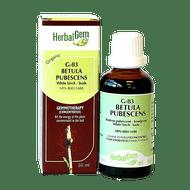 HerbalGem Gemmotherapy G83 Betula pubescens Buds 50 ml